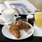 croissant, lekvár